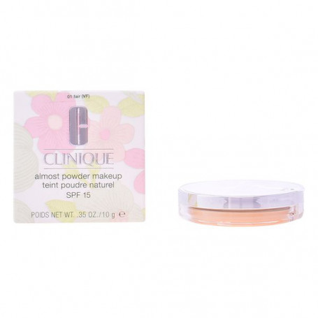 Powdered Make Up Almost Powder Clinique Spf 15