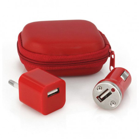 Set med laddare (2 Pcs) 1000 mAh 144331