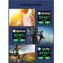 Smartklocka med Aktivitet och Pulsmättning för iPhone och Android