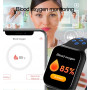 FitPolo Smartklocka - 8 Sportsläge, Puls, Stegräknare, Mobil Synk