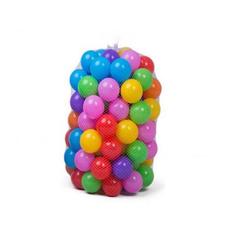 Lekbollar x 200 stycken - glada 7 färger
